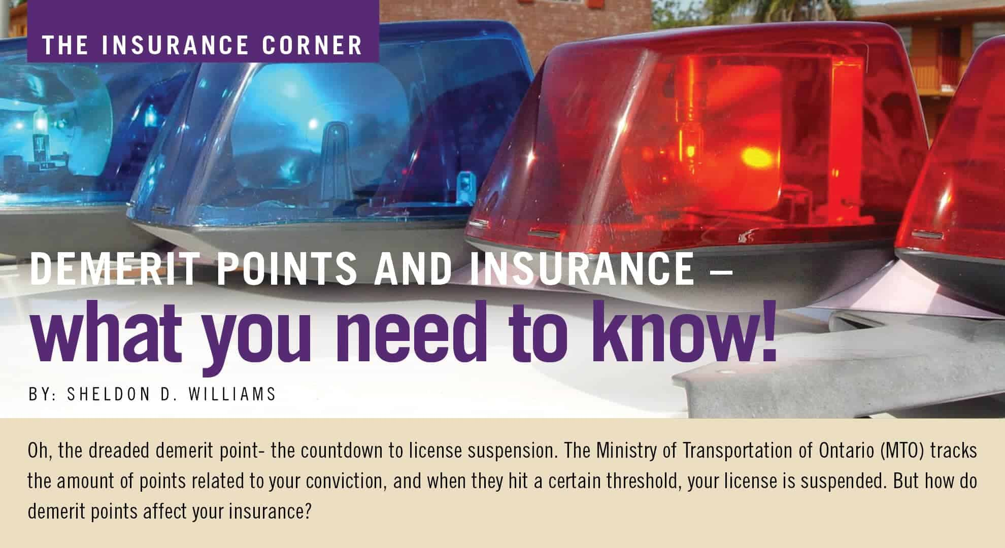 Demerit Points - What You Need to Know