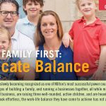 Putting Family First:  A Delicate Balance