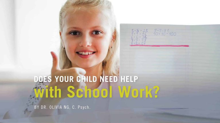 Does your child need help with School Work?
