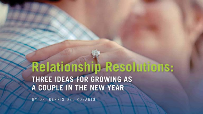 Relationship Resolutions: Three ideas for growing as  a couple in the New Year