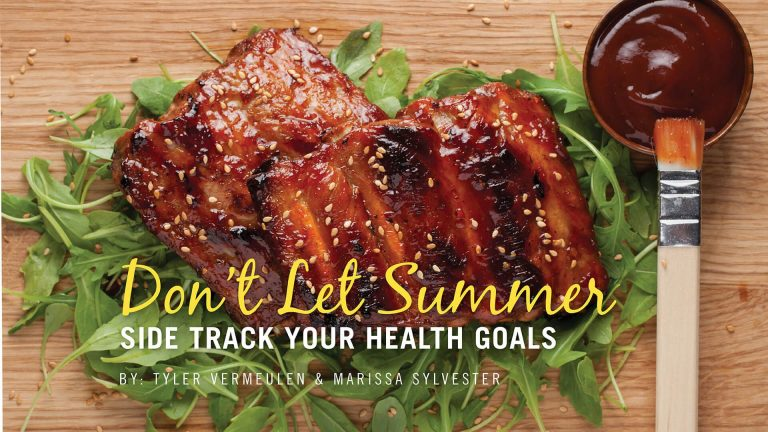 Don't let summer side track your health goals